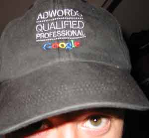 AdWords Professional Hat.