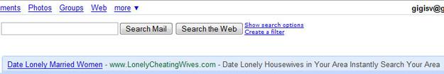 google promtes infidelity