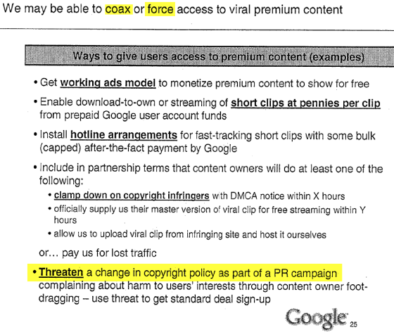 Image of google s internal change copyright propaganda strategy