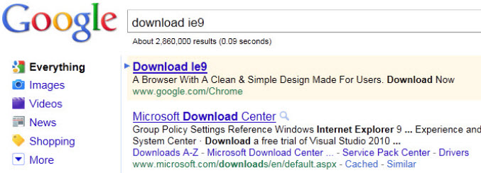 Download IE9