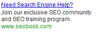Example Google AdWords Ad.