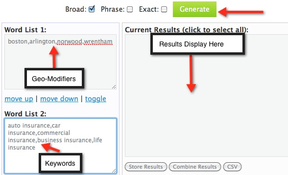 Keyword Generator