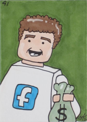 Mark Zuckerberg Graphic.