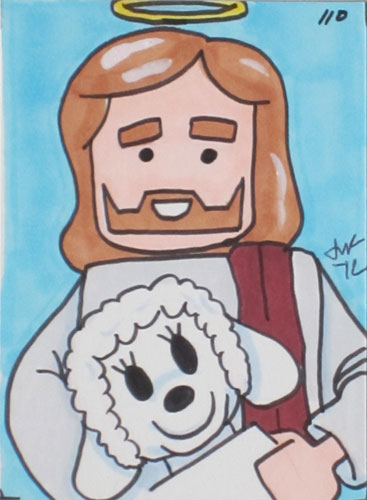 SEO Jesus Drawing.