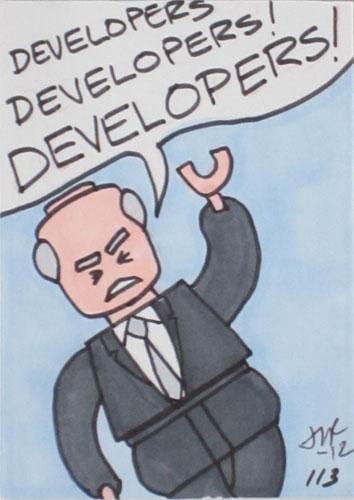 Steve Ballmer Graphic.