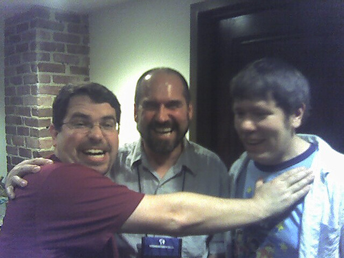 Matt Cutts, Joe Duck, and Aaron Wall.
