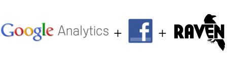 Facebook and Google Analytics with Raven
