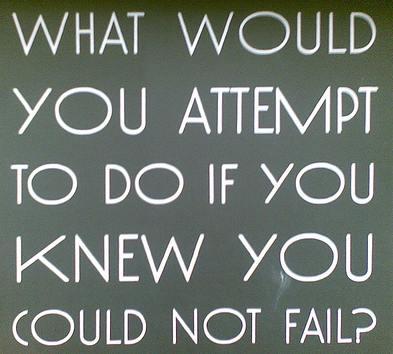 Fear of Failure Chalkboard