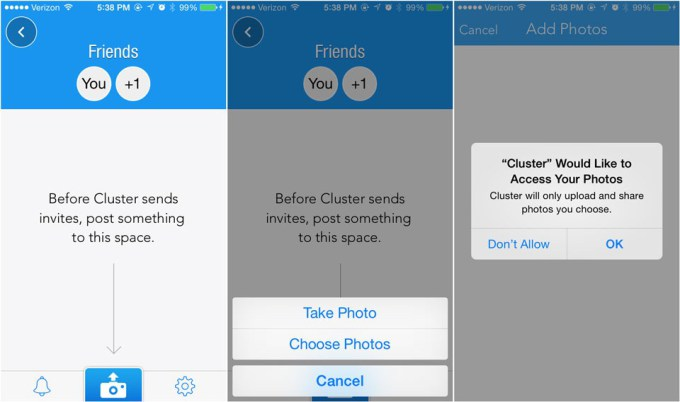 Cluster App User Permissions