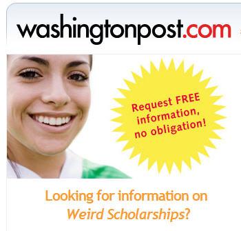 Washington Post Advertisement.
