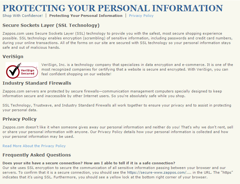 Privacy Policy Templates. 7 privacy policy templates free samples ...